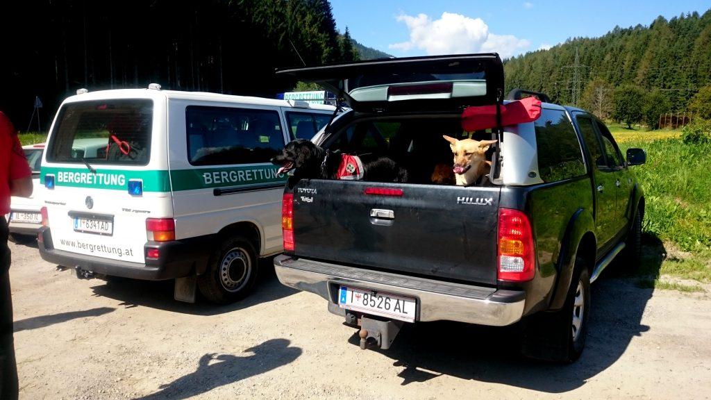 Sucheinsatz Bergrettung Innsbruck